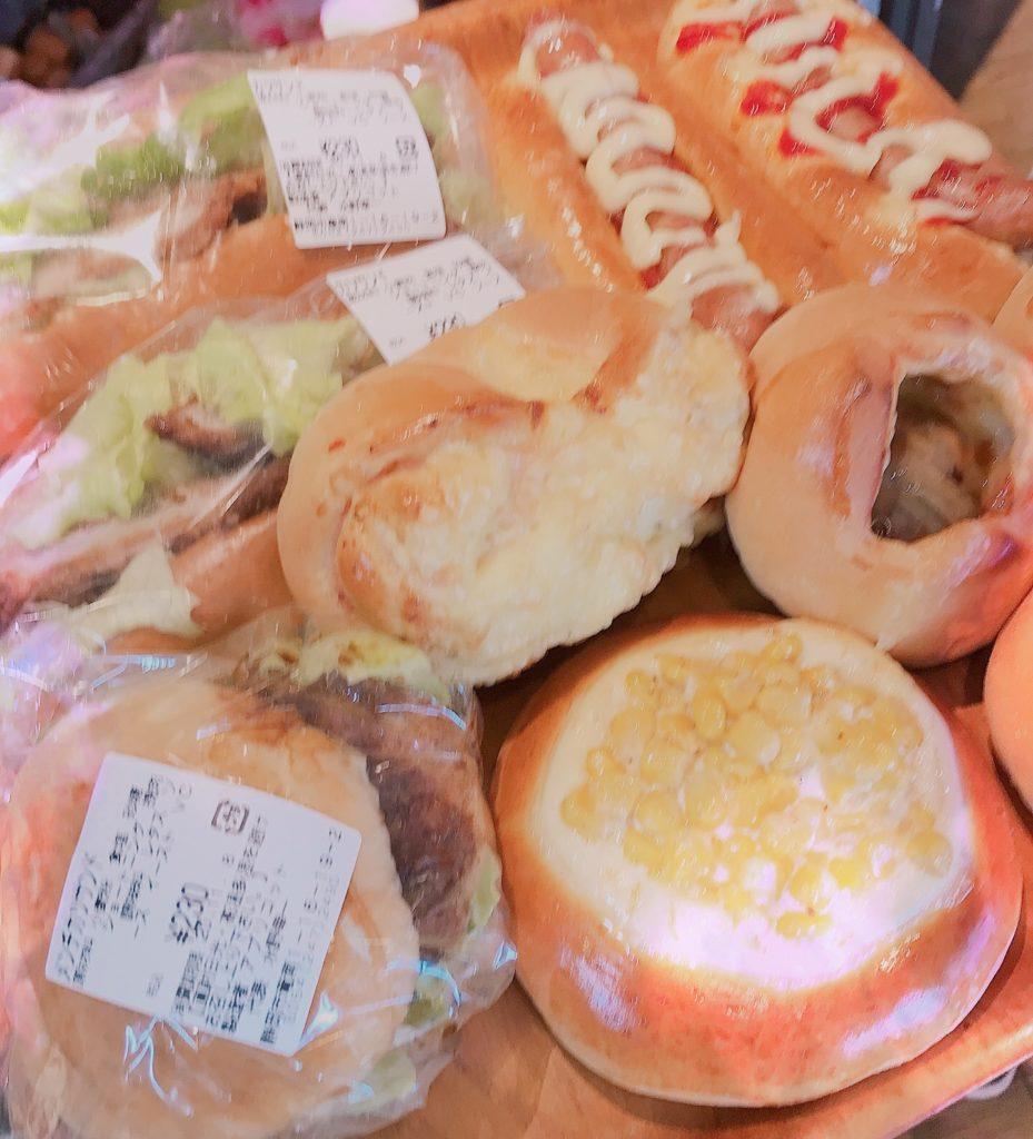 購入したパンの画像