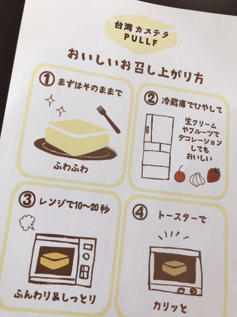 美味しい食べ方の説明の画像