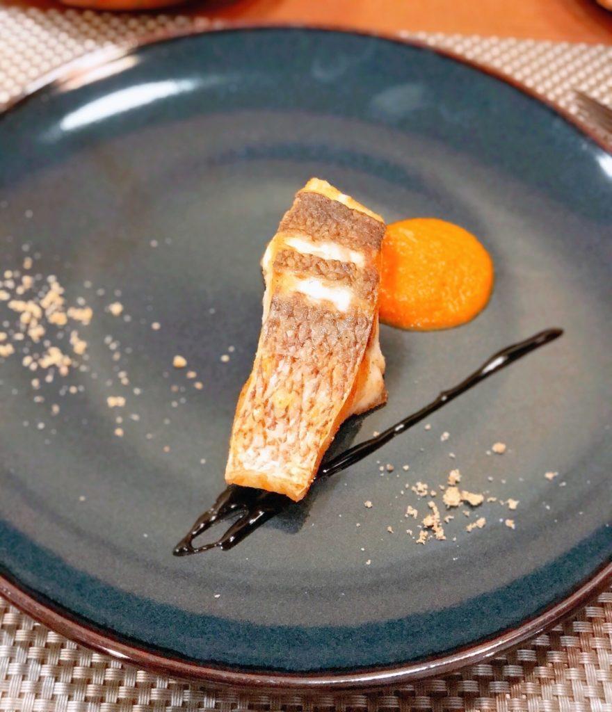 真鯛のポワレの画像