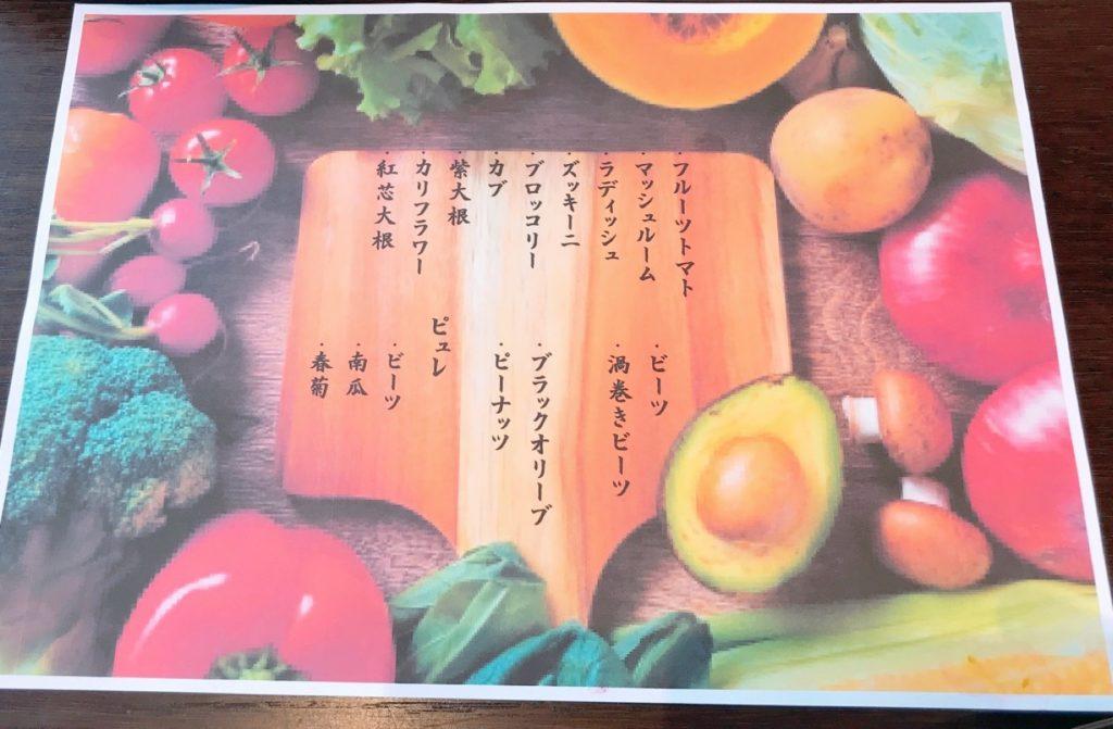 野菜の種類の画像