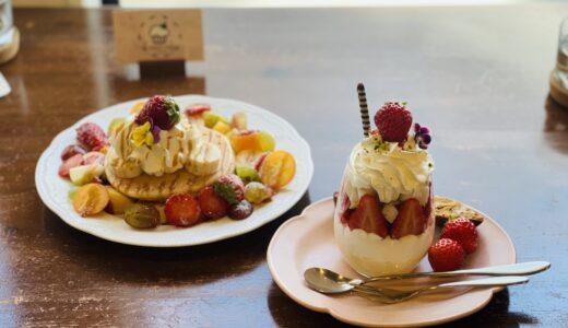 甘くて美味しい苺スイーツが食べられるお店 Cream cafe'