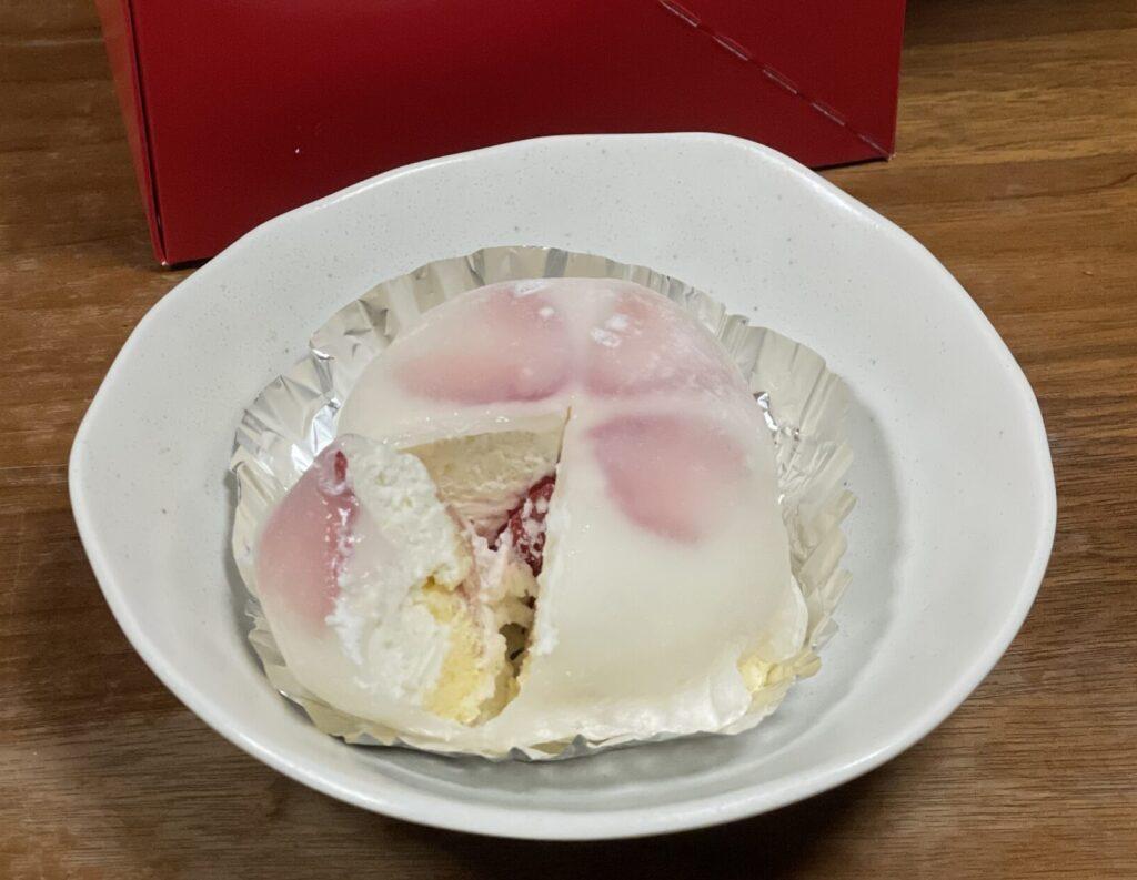 苺ショート大福の画像