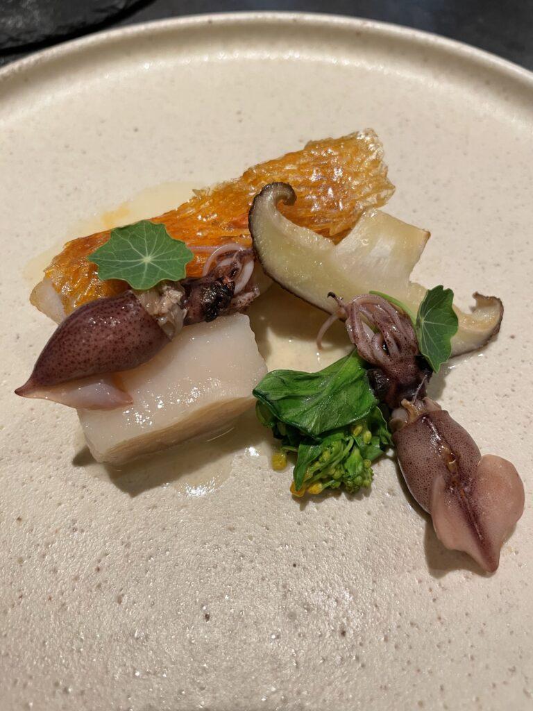 お魚料理の画像